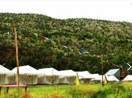 TIH Himalayan Shakia Camp - Sarchu, luxury tent in Sir Bhum Chun