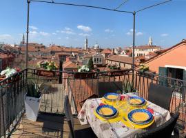 Casa Jaqueline ( Attico ), hotel perto de Basílica de São Jorge Maior, Veneza