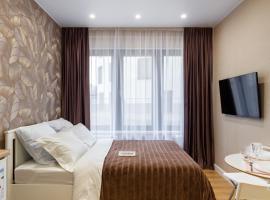Apartments Mytishchi Letnaya Street, hotel near Ice Stadium Mytischi, Mytishchi