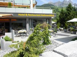 Hotel Hahnenblick, hotel in Engelberg