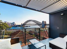 Breathtaking Sydney Harbour penthouse, hotel in Sydney