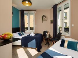 Résidence AURMAT - Appart-hôtel - Boulogne - Paris, hôtel à Boulogne-Billancourt