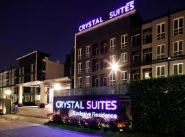 Crystal Suites Suvarnbhumi Airport, hotel in Lat Krabang