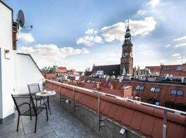 Aparthotel New Lux, serviced apartment in Wrocław