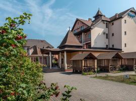 Sribnyi Vodogray, hotel in Polyana