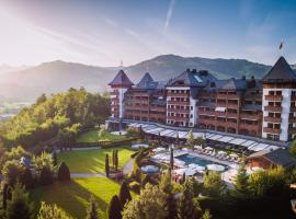 The Alpina Gstaad, hotel in Gstaad