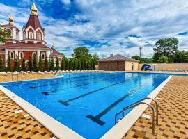 Pansionat Primorsky, hotel with jacuzzis in Divnomorskoye