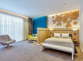 Aqua-Minsk Hotel Plus, отель в Минске