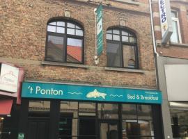 B&B 't Ponton, beach hotel in Nieuwpoort