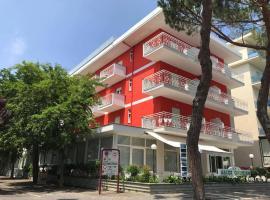Hotel Ascot, hotell i Misano Adriatico