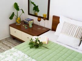 INSPIRATION Guestroom with Amazing Roof Garden, hotel near Ethniki Amyna Metro Station, Athens