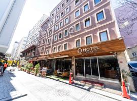 Q Inn Hotel Old City, hotel in Istanbul
