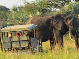 Tembe Elephant Park Lodge, luxury tent in Sihangwane