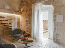 Cenobio Hotel, hotel con parking en Matera