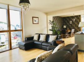 Glasgow SSE Hydro Apartment with Secure Parking, hotel near The Hydro, Glasgow