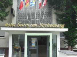 Hotel Garni am Hechenberg, Hotel in Mainz