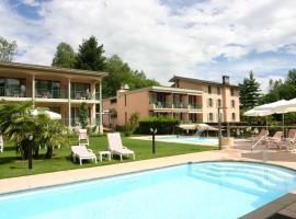 Hotel & Spa Cacciatori, отель рядом с аэропортом Региональный аэропорт Лугано - LUG в городе Кадемарио