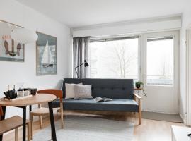 Spacious Design Studio Home With Terrace, puhkemajutus Helsingis
