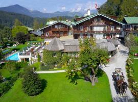 Tennerhof Gourmet & Spa de Charme Hotel, отель в Кицбюэле