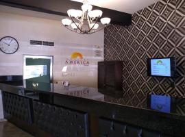 Hotel America Palacio, отель в городе Лос-Мочис