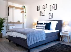 Helles Design-Appartement an der Messe, self catering accommodation in Essen