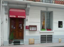 Hôtel Riviera, hôtel à Vichy