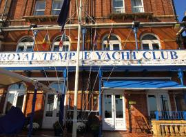 Royal Temple Yacht Club, hotel in Ramsgate