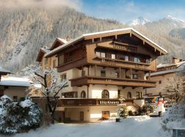 Hotel Garni Villa Knauer, Hotel in Mayrhofen