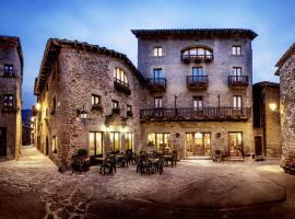 Hotel Hostal Estrella, hotel familiar en Rupit
