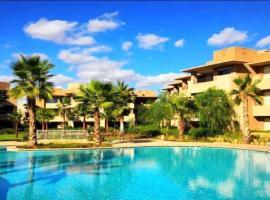 luxury apartment, hotel near The Montgomerie Golf Course, Marrakesh