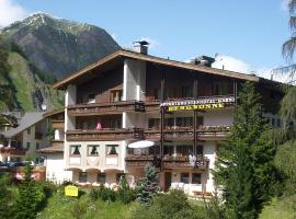Hotel Garni Bergsonne, hotel in Samnaun