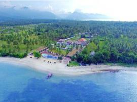 Anema Wellness Villa & Spa Gili Lombok, beach hotel in Tanjung