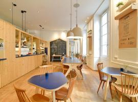 Away Hostel & Coffee Shop, accessible hotel in Lyon