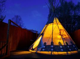 OK RV Park Glamping Tipi OK55, campground in Moab