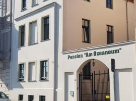 Pension Am Ozeaneum, guest house in Stralsund