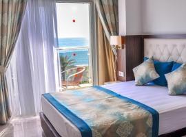Cleopatra Golden Beach Hotel, отель в городе Аланья, рядом находится Гавань Аланьи