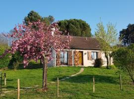 Gîte de la pomme de pin, villa in Seigy