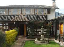 """EL DESCANSO """"the Rest"""", country house in Otavalo"""