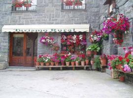 Casa Herrero, casa rural en Oto