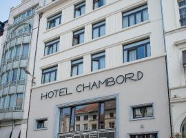 Hotel Chambord, hotel in Brussels