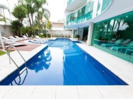 Excelente apartamento beira mar, hotel with jacuzzis in Rio de Janeiro
