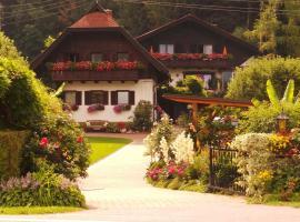 Blumenpension Strauss - Ferienwohnungen, Hotel in Ossiach