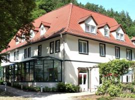 Waldhotel Linzmühle, Hotel in der Nähe von: Ernst-Abbe-Sportfeld, Kahla