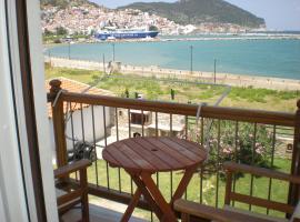Hotel Antonios, hotell nära Skopelos hamn, Skopelos stad