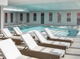 Hôtel de la Baie - Thalassothérapie PREVITHAL, beach hotel in Donville-les-Bains