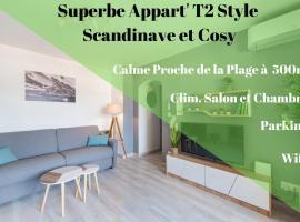 Apartment T2 Confort - Calme - Proche plage、ラ・シオタのホテル