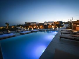 Myconian Crown Suites, hotel in Kalafatis