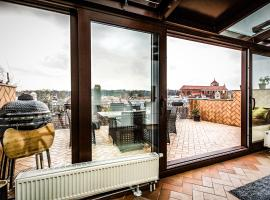 ORCHID LUXURY SUITE Best Old Town View Roof Terrace Two Bedrooms, apartamentai mieste Kaunas