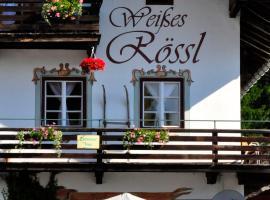 """""""0"""" Sterne Hotel Weisses Rössl in Leutasch/Tirol, B&B in Leutasch"""