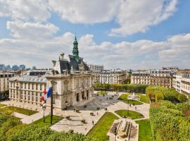 Belle vue 2, hotel near Anatole France Metro Station, Levallois-Perret